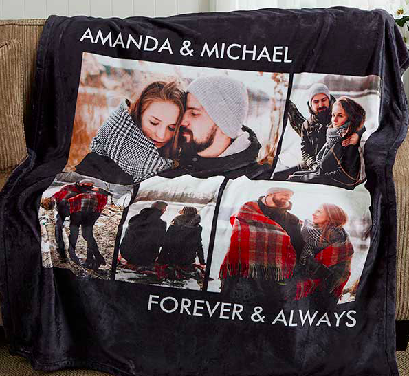 valentines day gift idea for him, valentines day gift idea for her, unique valentines day gift idea, personalized blanket for him, personalized blanket for her, personalized blanket for couples