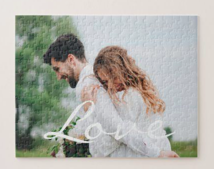 valentines day gift idea for him, valentines day gift idea for her, unique valentines day gift idea, personalized puzzle for couples